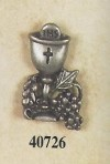 Pewter Chalice with grapes 40726